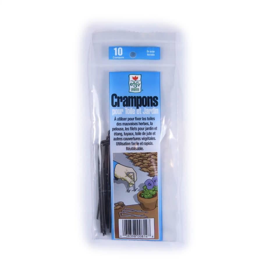 Easy Gardener Crampons pour toile et jardin