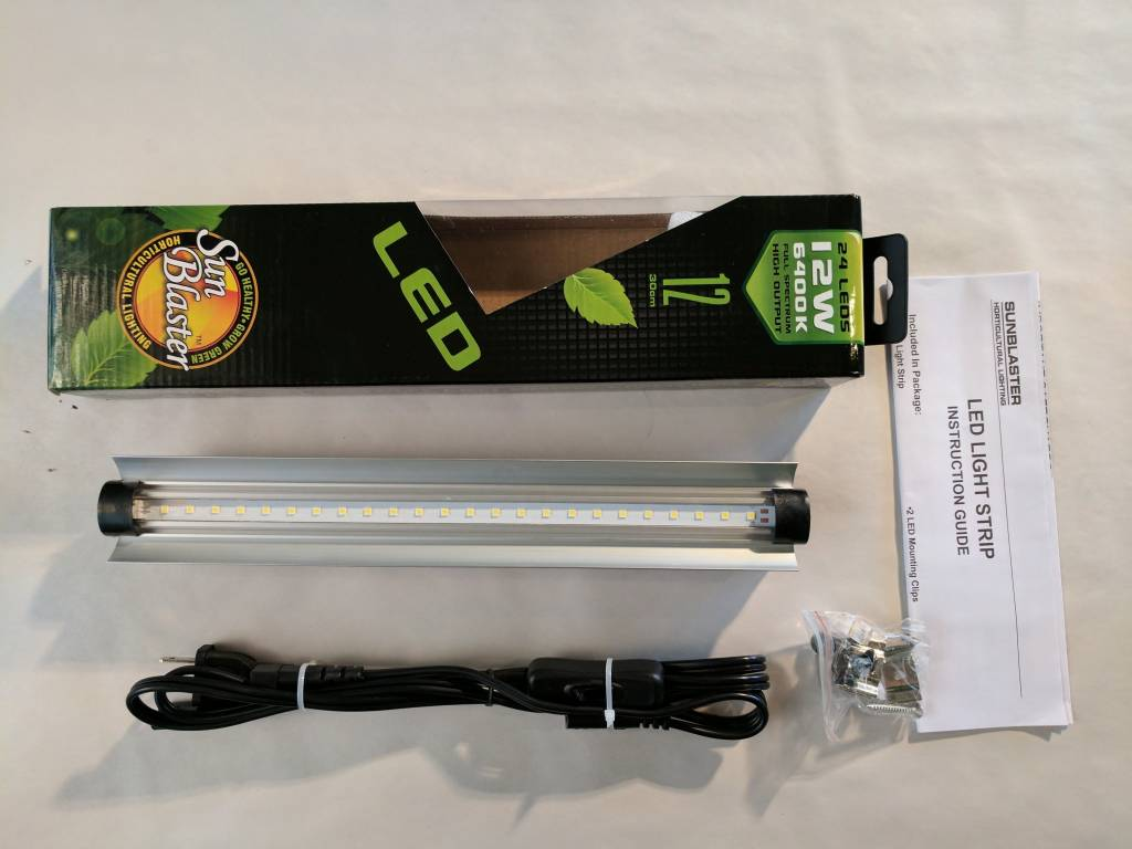 SunBlaster Lampe LED Sunblaster 6400k 12po