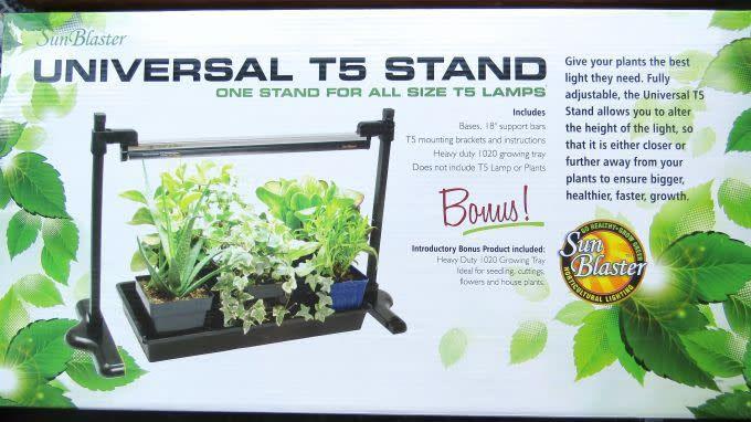SunBlaster Support universel à lampe T5 ajustable SB