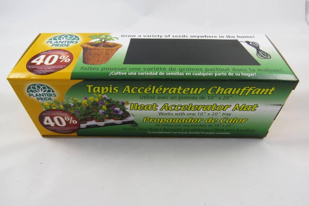 """Tapis Accélérateur Chauffant 10"""" X 20"""""""