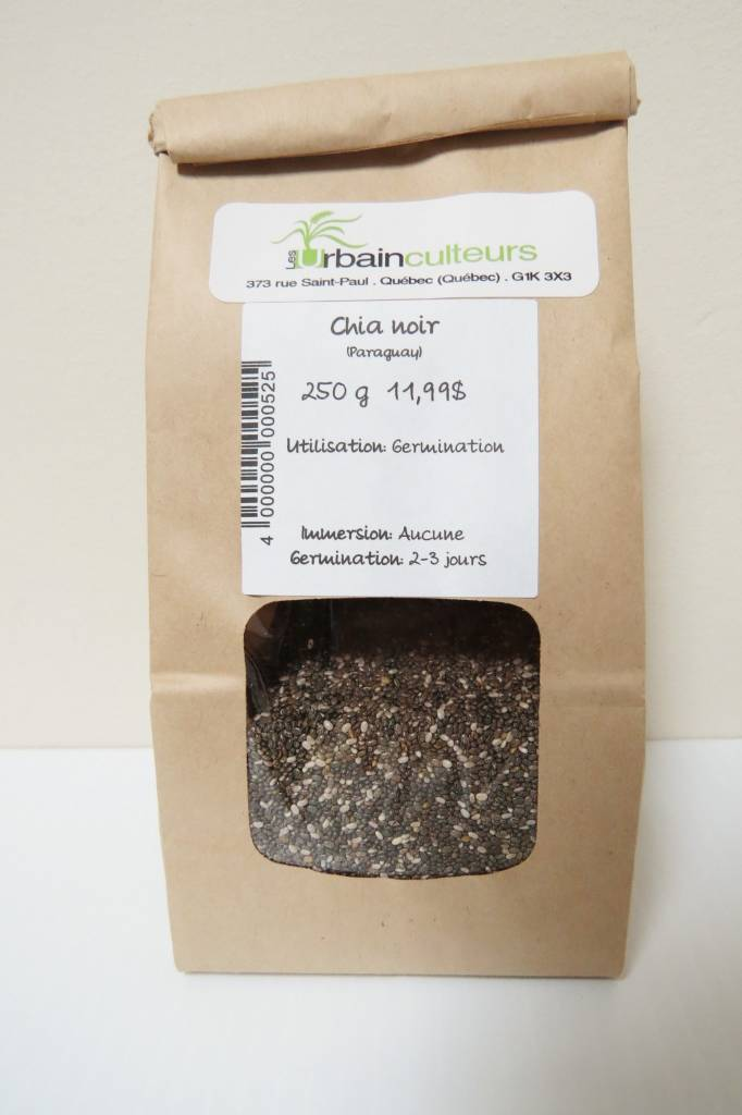 Chia Noir 250g (Paraguay)