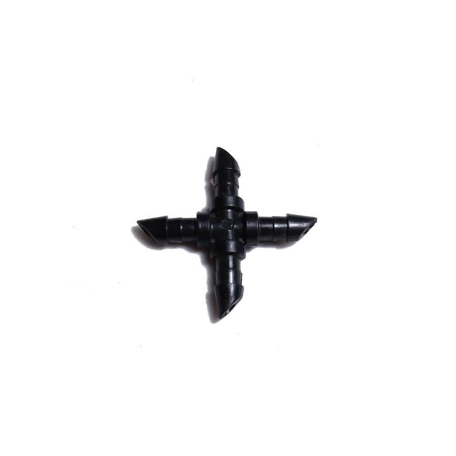 "Raccord 1/4"" - Croix"