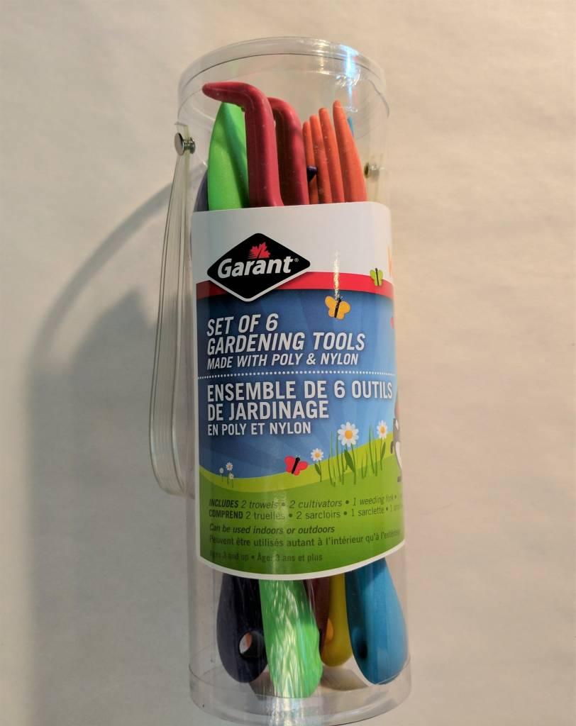 Garant Ensemble de 6 outils de jardinage Garant