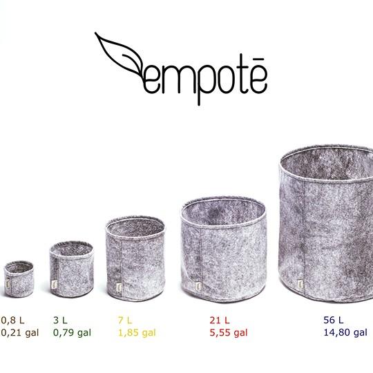 Empoté Empoté 56 litres