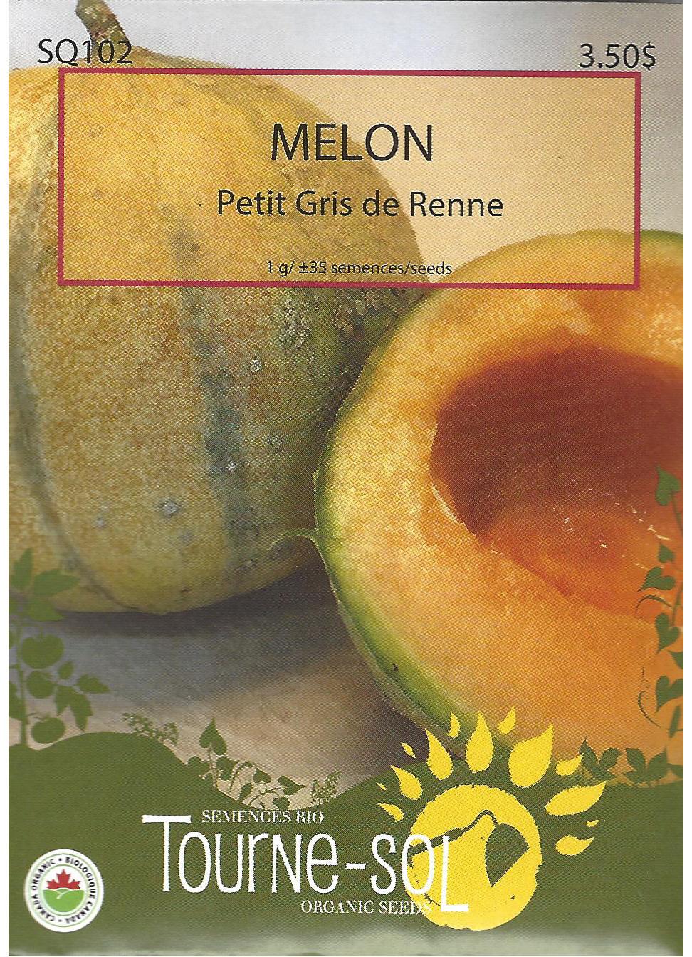 Semence Tourne-sol Melon Petit Gris De Renne