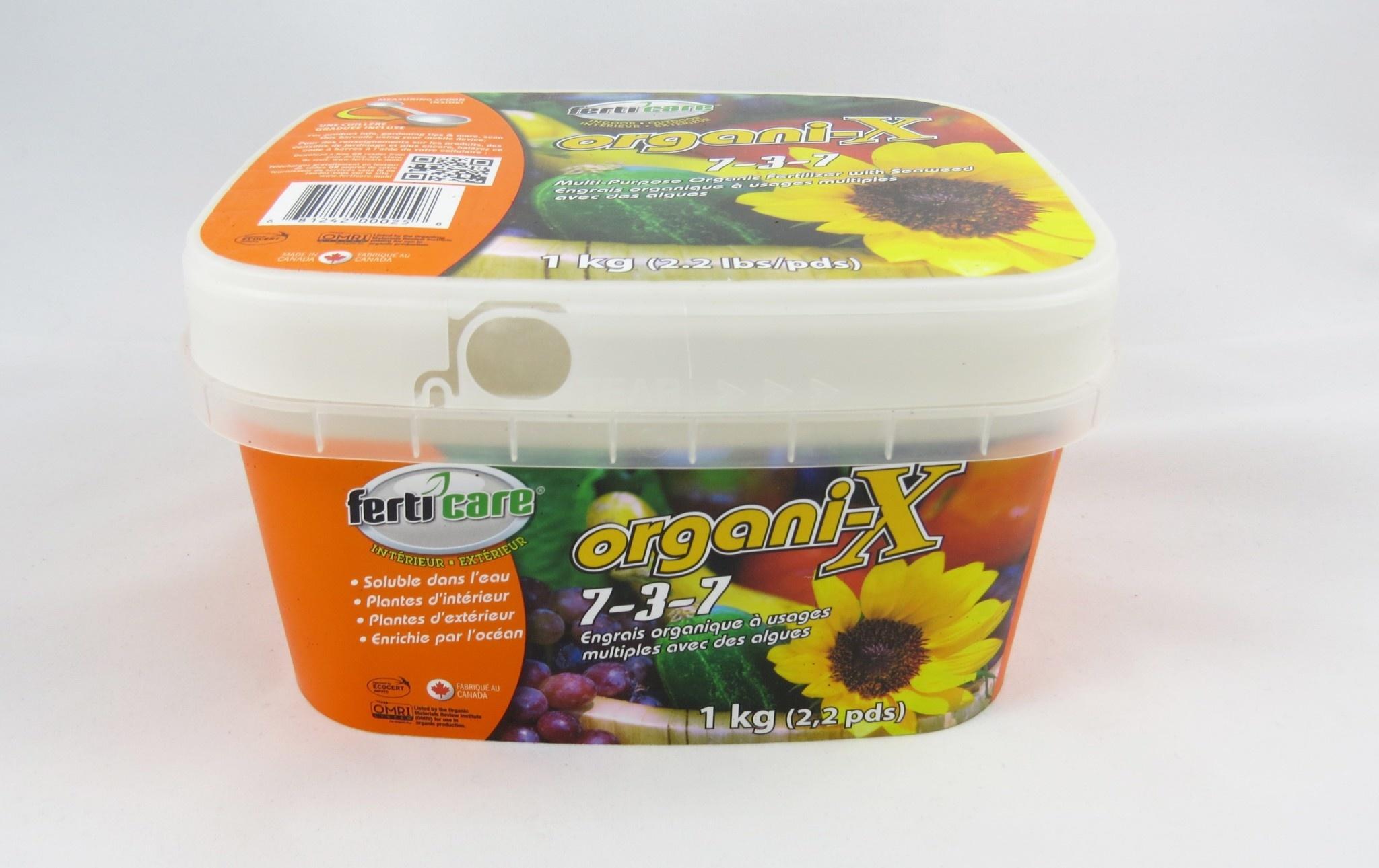 Ferticare Ferticare organi-X 7-3-7 (1kg)