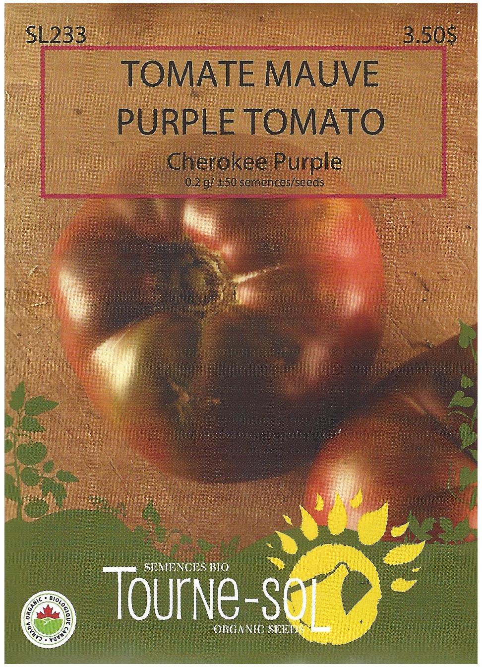 Semence Tourne-sol Tomate mauve Cherokee Purple