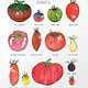 Illustration Laucolo - Tomates