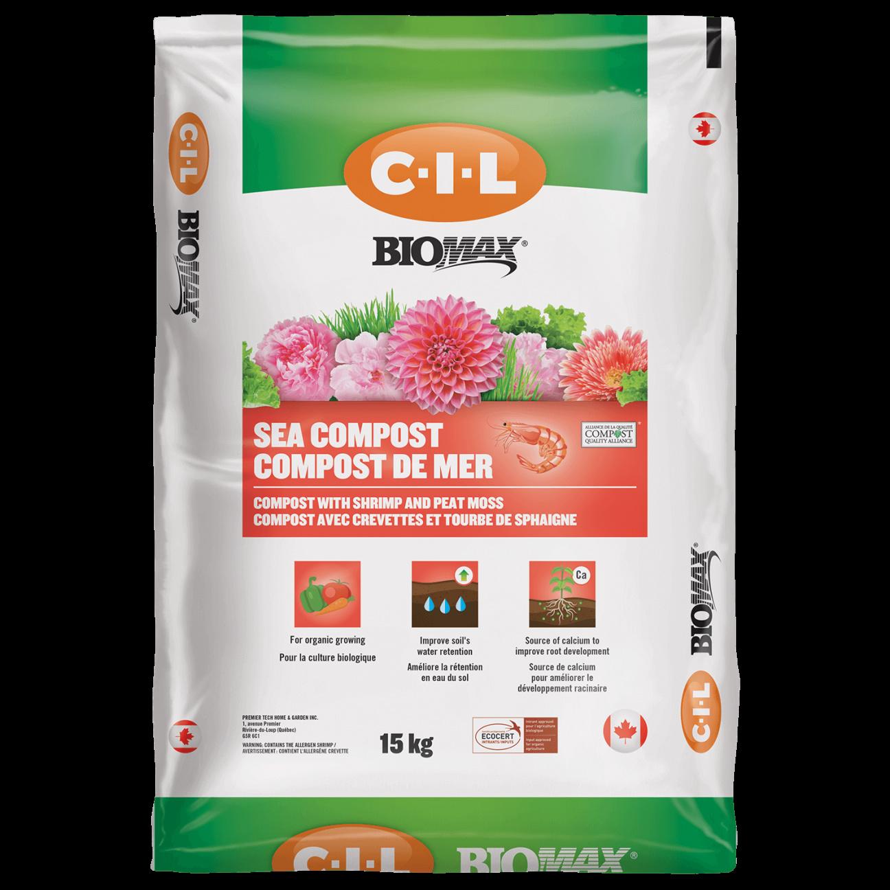 Biomax Compost crevettes C-I-L Biomax 35L
