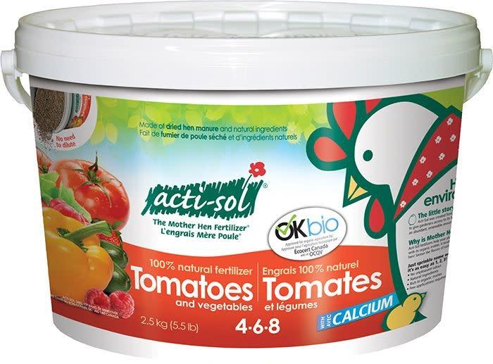 Acti-Sol Acti-sol Tomates et légumes 4-6-8 (2,5 kg)