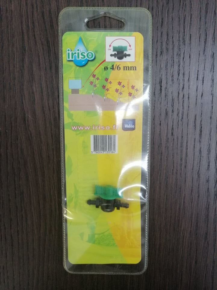 Iriso Valve Iriso 4/6 mm