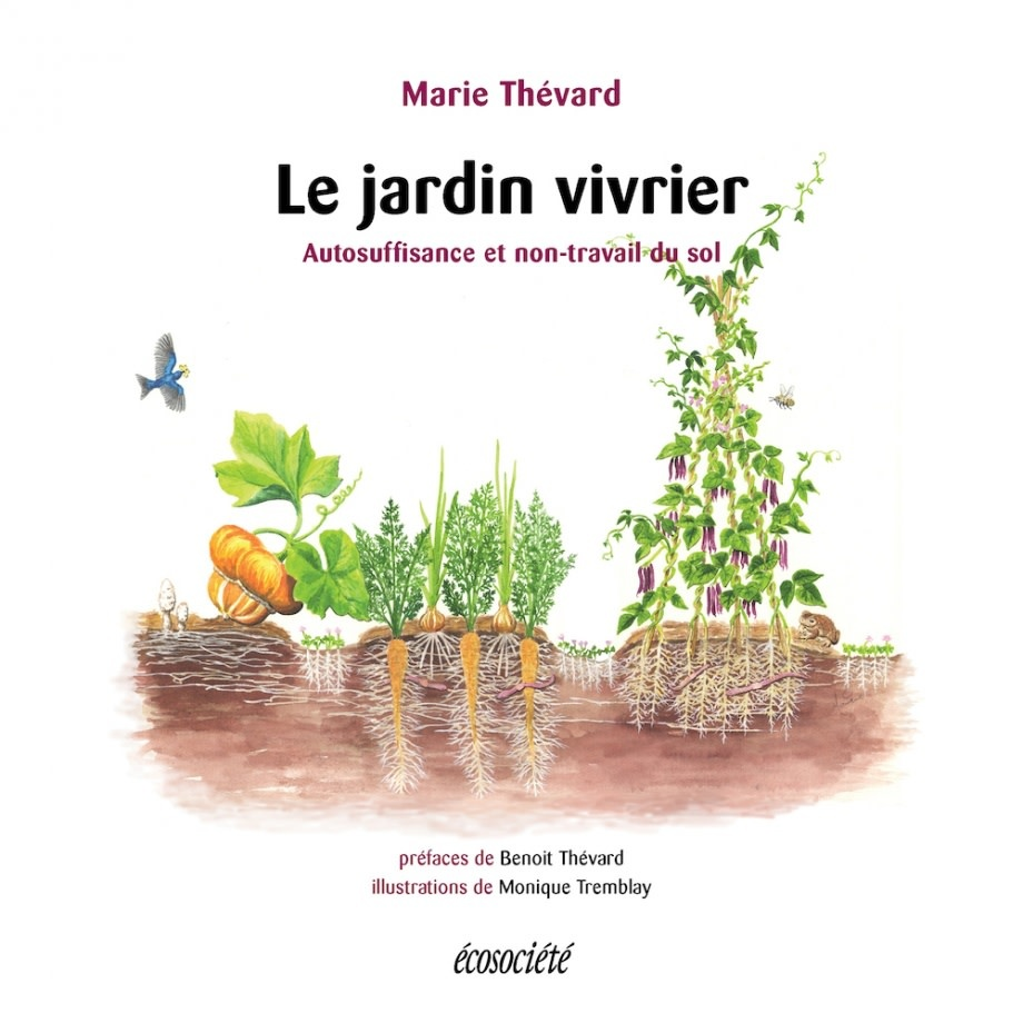 Le jardin vivrier - Marie Thévard -2021
