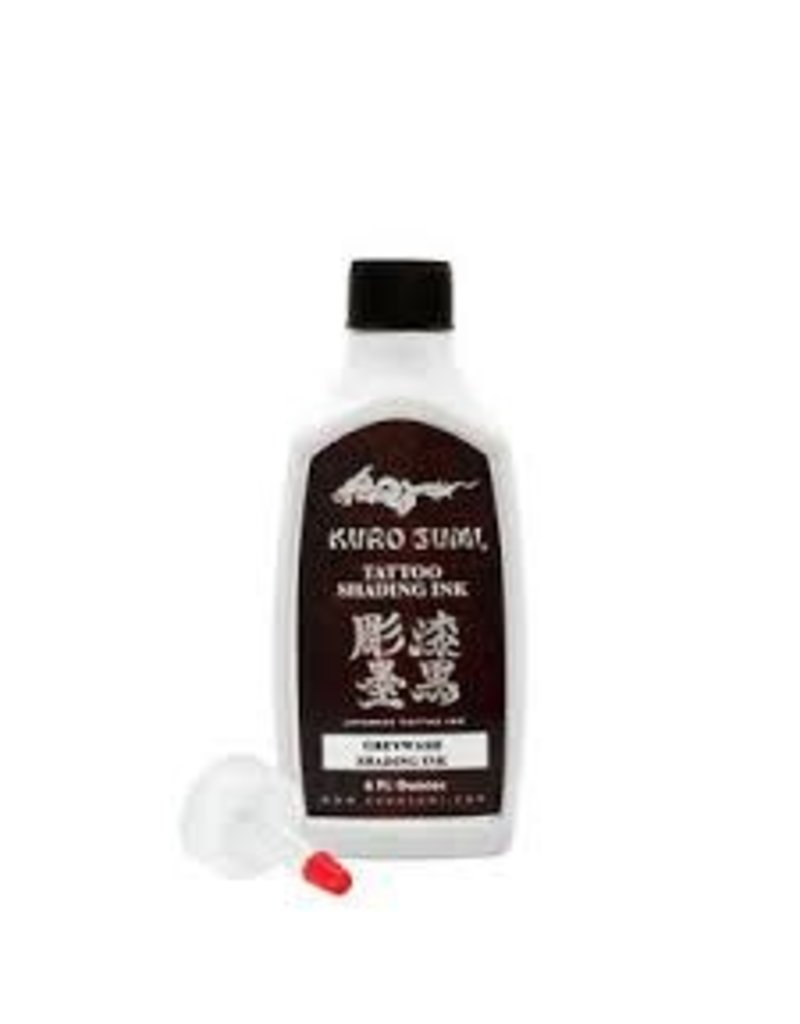 Kuro Sumi Soft Greywash Ink 12 oz Clearance