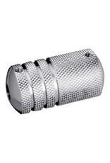 "Stainless Steel Grip 1"" w/backstem"
