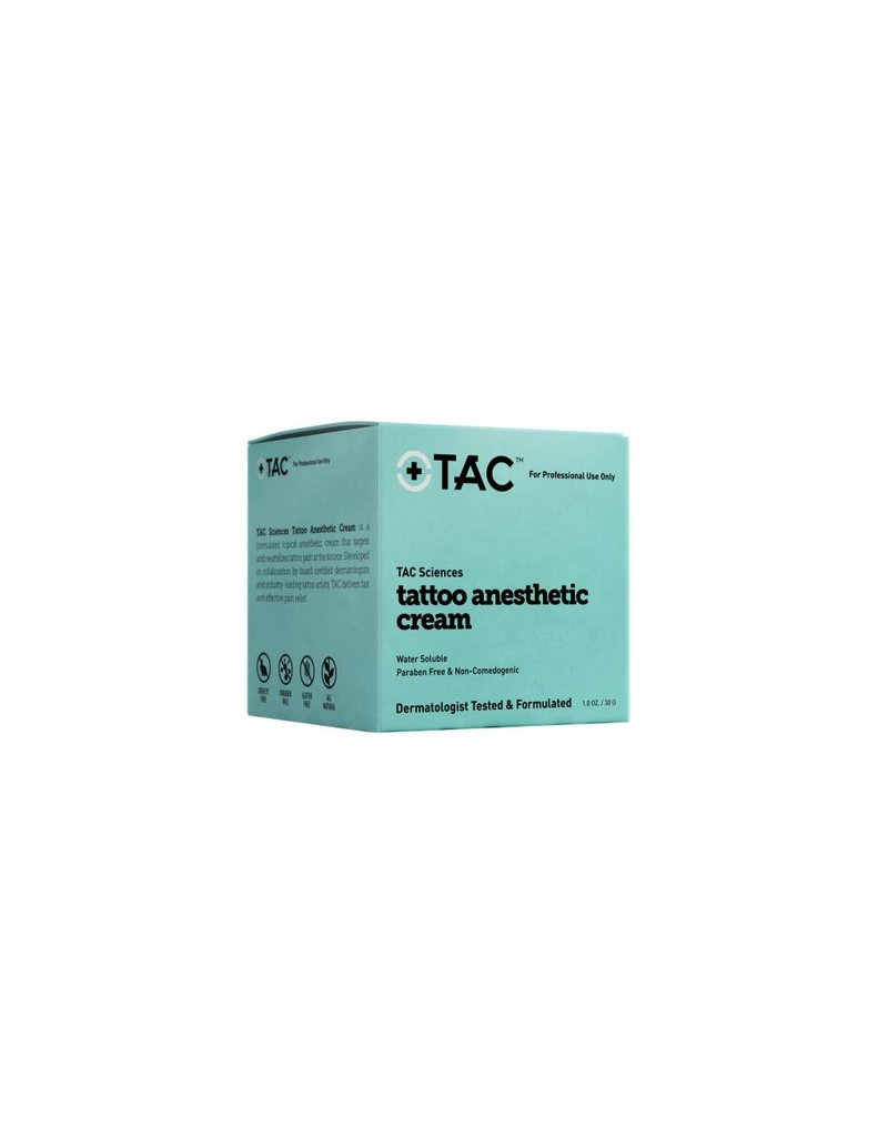 TAC Anesthetic Cream 1 oz single