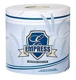 "Empress 2ply Bath tissue 4.5""x3.5"" 96 rolls/case 500 sheets/roll"