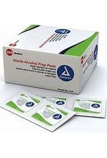 Alcohol Prep Pads, Medium, Sterile single