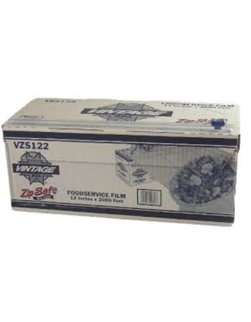 "Plastic Wrap w/Cutter Box 18""x2000' ZipSafe"