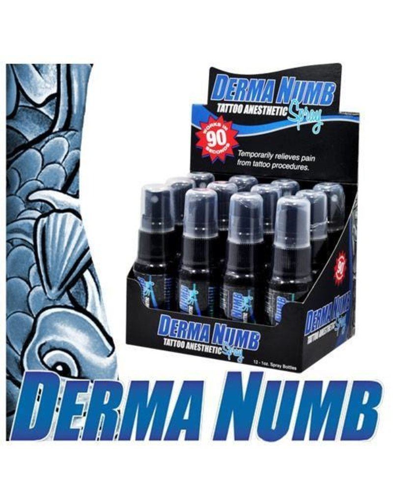 DermaNumb Tattoo Anesthetic 1 oz single