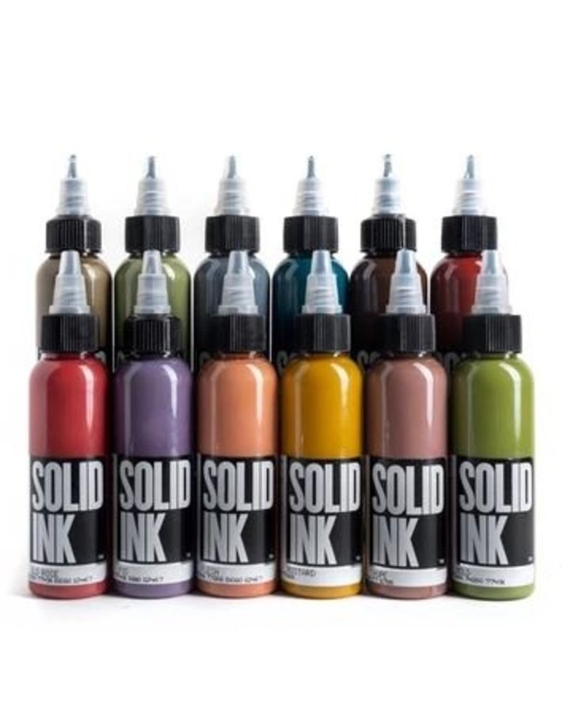 Solid Ink Solid Ink Opaque Earth Set
