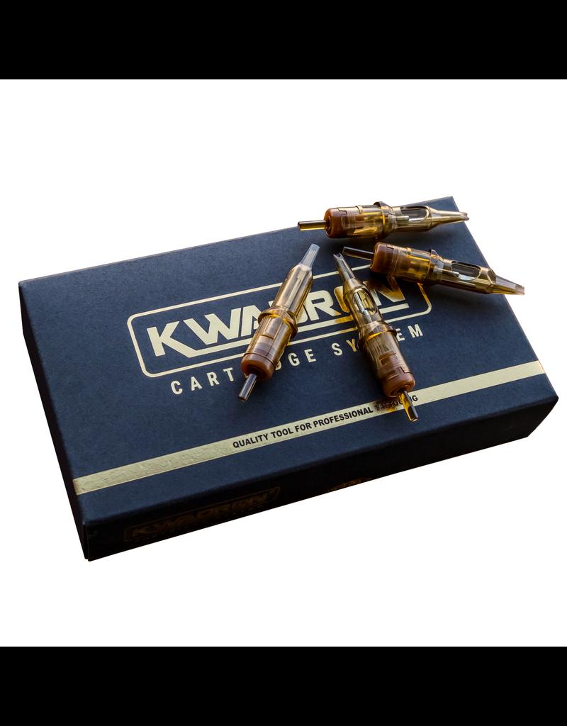 Kwadron Kwadron 9 Round Turbo Liner Long Taper (20/Box) #12 K-9RL-T