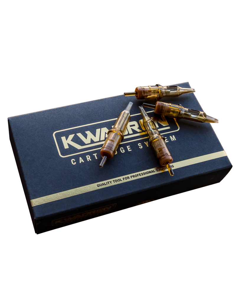 Kwadron Kwadron 15 Curved Magnum  Long Taper (20/Box) #12 K-15CM