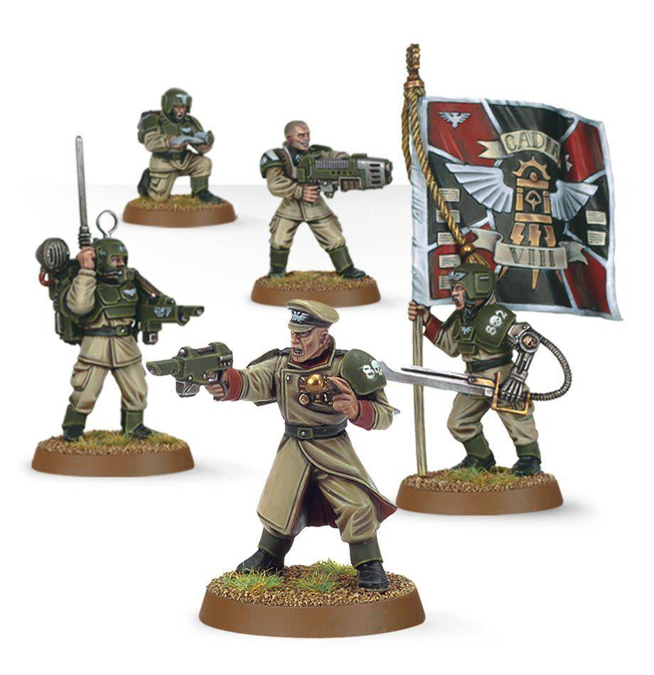 Astra Militarum: Cadian Command Squad