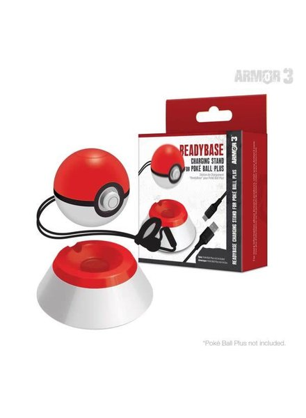 """ReadyBase"" Charging Stand for Poké Ball Plus - Armor3"