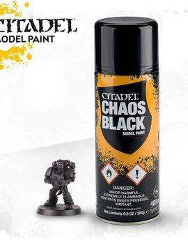 Chaos Black Spray Paint
