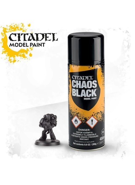 Chaos Black Spray Paint