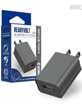 """ReadyVolt"" USB AC Adapter for PS Classic - Armor3"