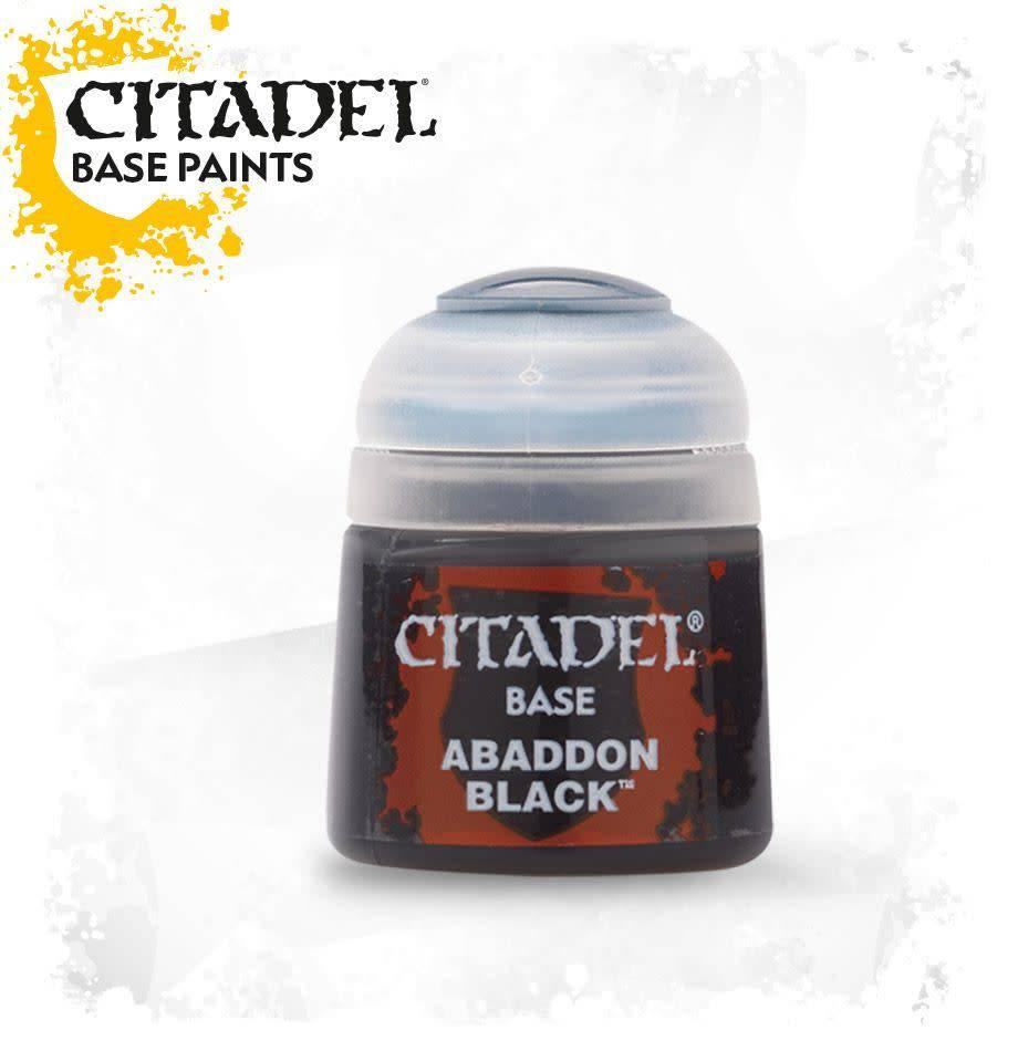 Citadel Paint Base: Abaddon Black