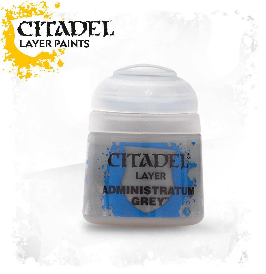 Citadel Paint Layer: Administratum Grey