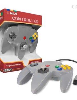 Cirka N64 Controller (Third Party) GRAY