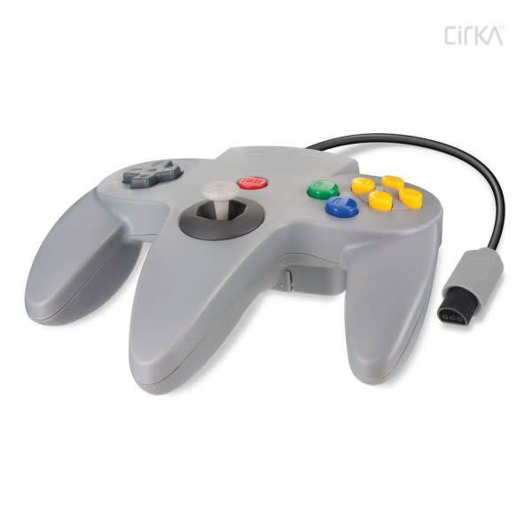 Cirka N64 Controller (Third Party) GRAY