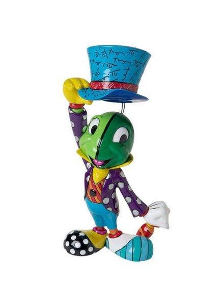 Disney Pinocchio Jiminy Cricket Hat Tip Statue by Romero Britto