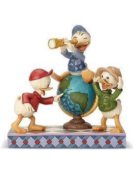 Disney Traditions DuckTales Navigating Nephews Statue