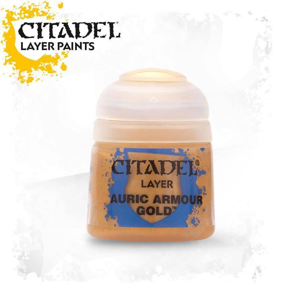 Citadel Paint Layer: Auric Armour Gold