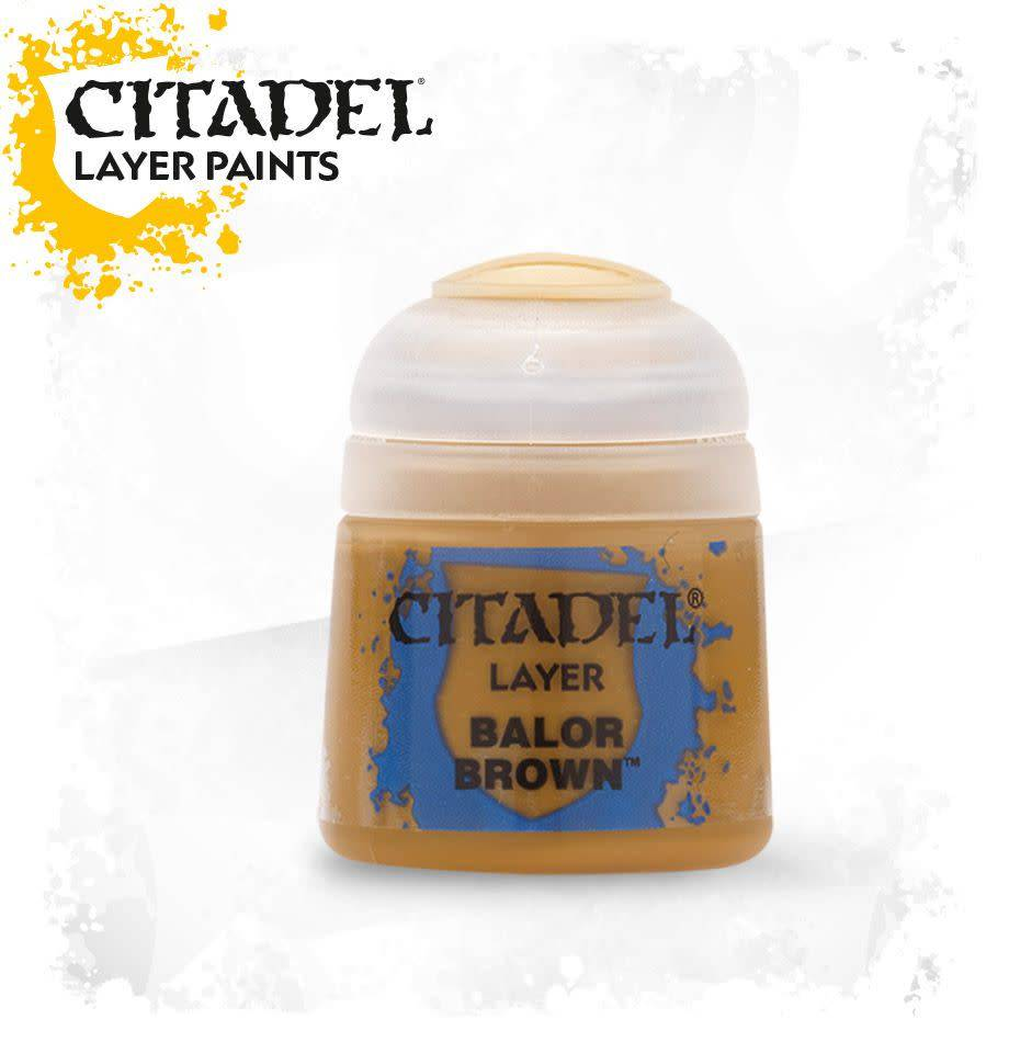 Citadel Paint Layer: Balor Brown