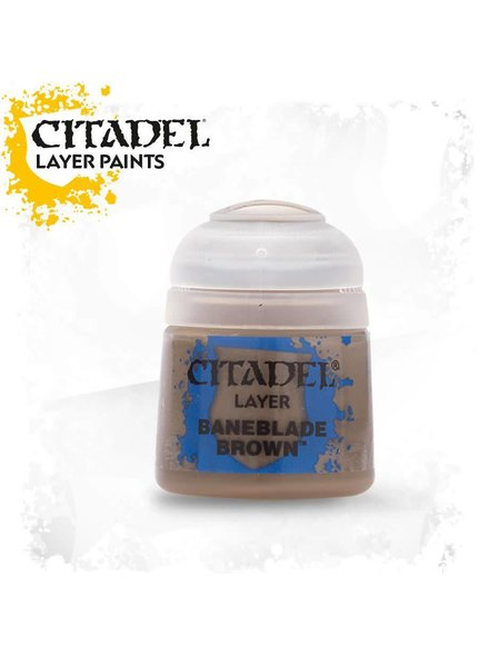 Games Workshop Citadel Paint Base: Baneblade Brown
