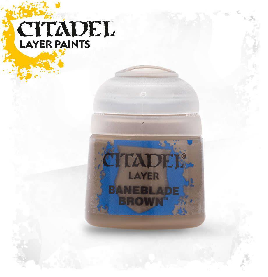 Games Workshop Citadel Paint Base: Baneblade Brown