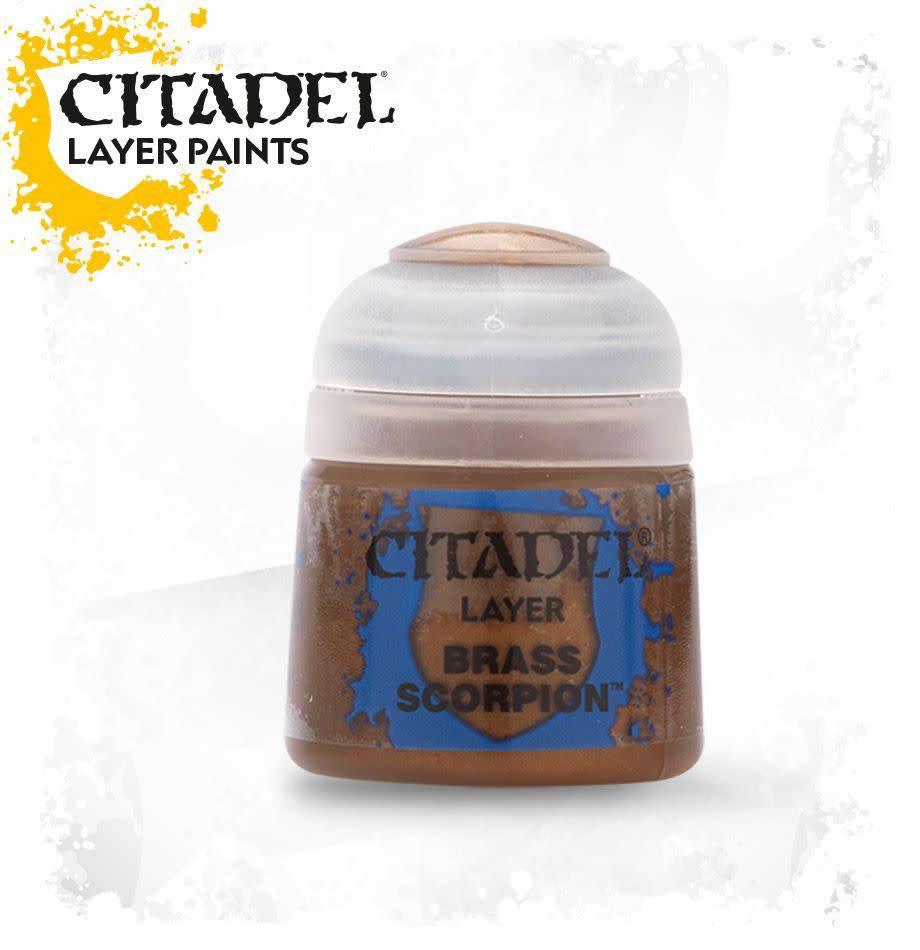 Citadel Paint Layer: Brass Scorpion
