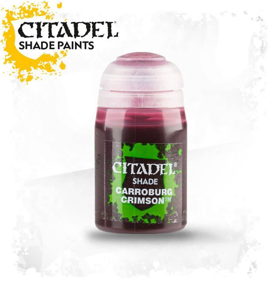 Games Workshop Citadel Paint Shade: Carroburg Crimson
