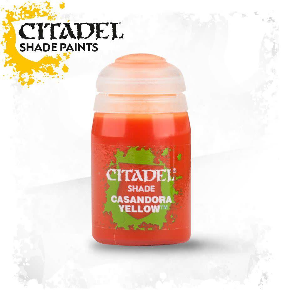 Citadel Paint Shade: Casandora Yellow