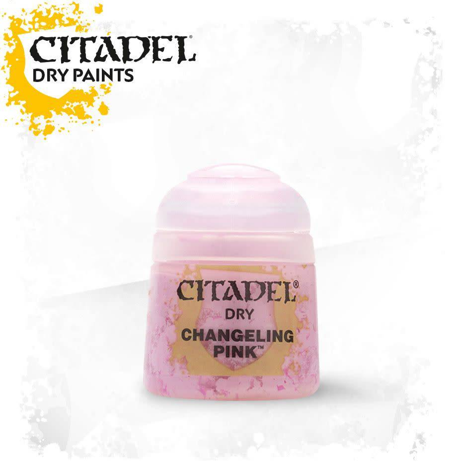 Citadel Paint Dry: Changeling Pink
