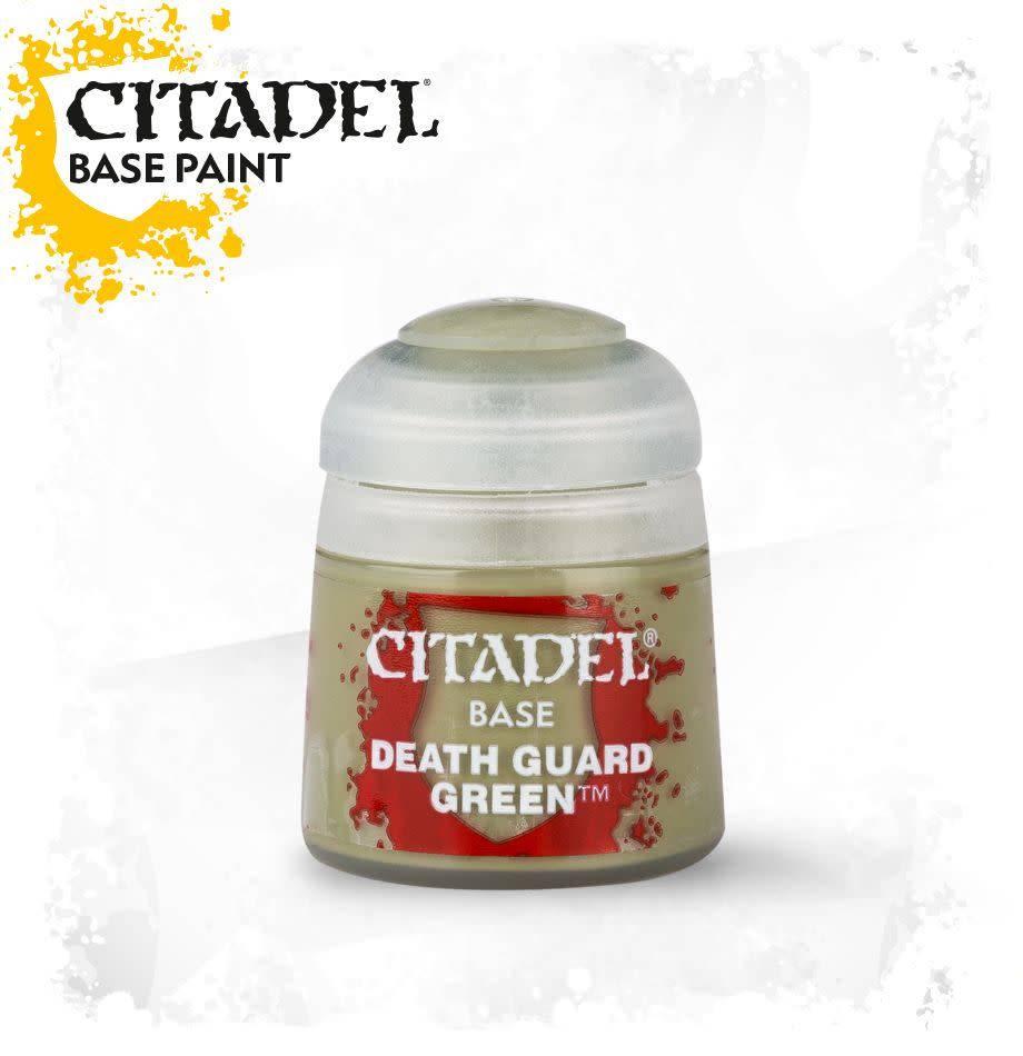 Citadel Paint Base: Death Guard Green