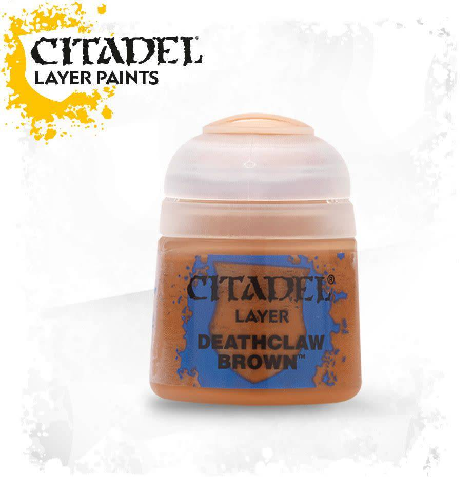 Citadel Paint Layer: Deathclaw Brown
