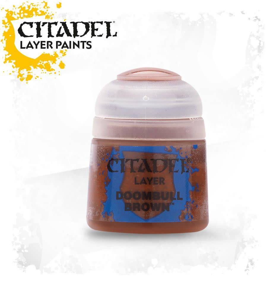 Citadel Paint Layer: Doombull Brown