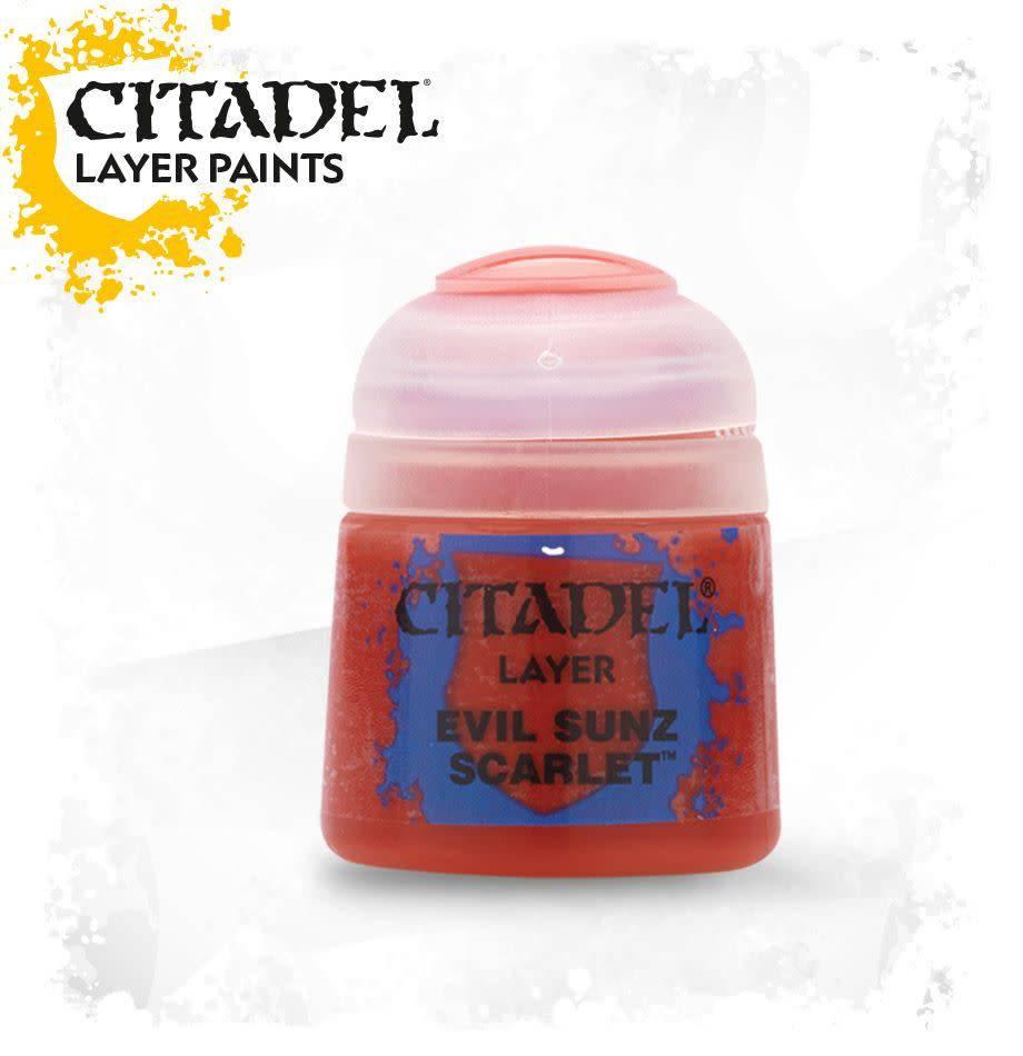 Citadel Paint Layer: Evil Sunz Scarlet