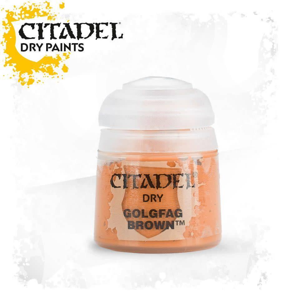 Citadel Paint Dry: Golgfag Brown